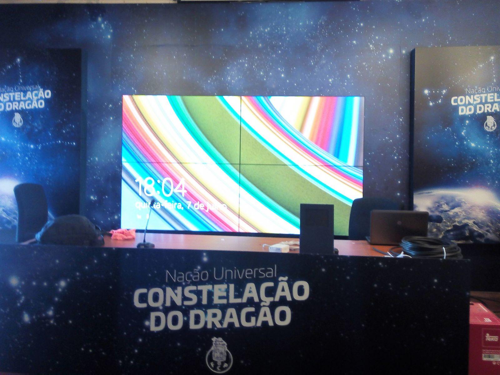 Sala de Conferência do Estádio do Dragão